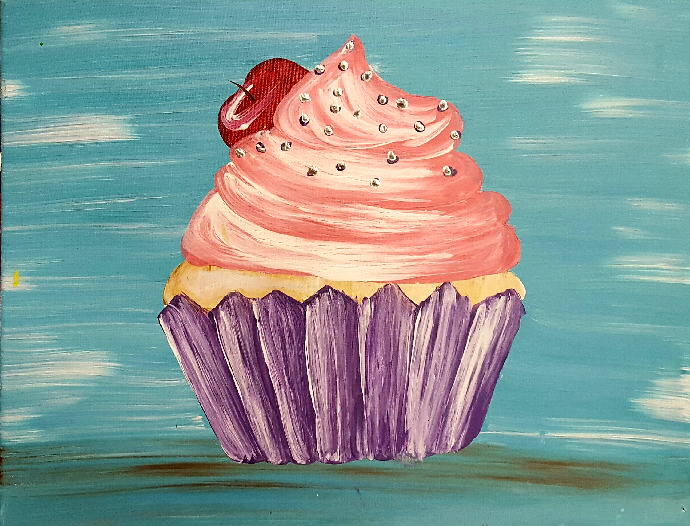 Cupcake (Choose your own colors!)-2 hours