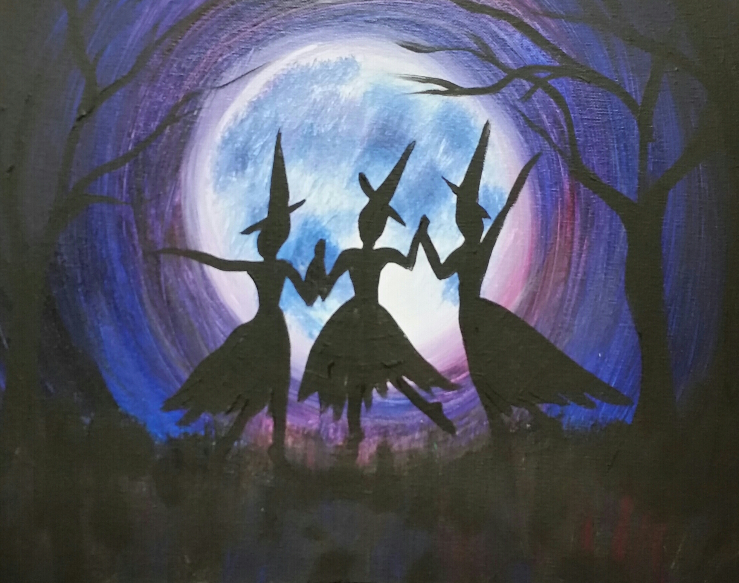 Glow in the Dark Dancing Witches- 2 hours