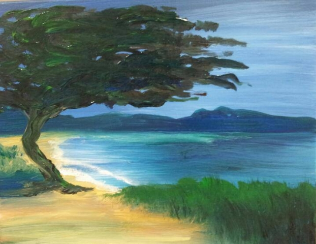 Old Beach Tree- 2 hours
