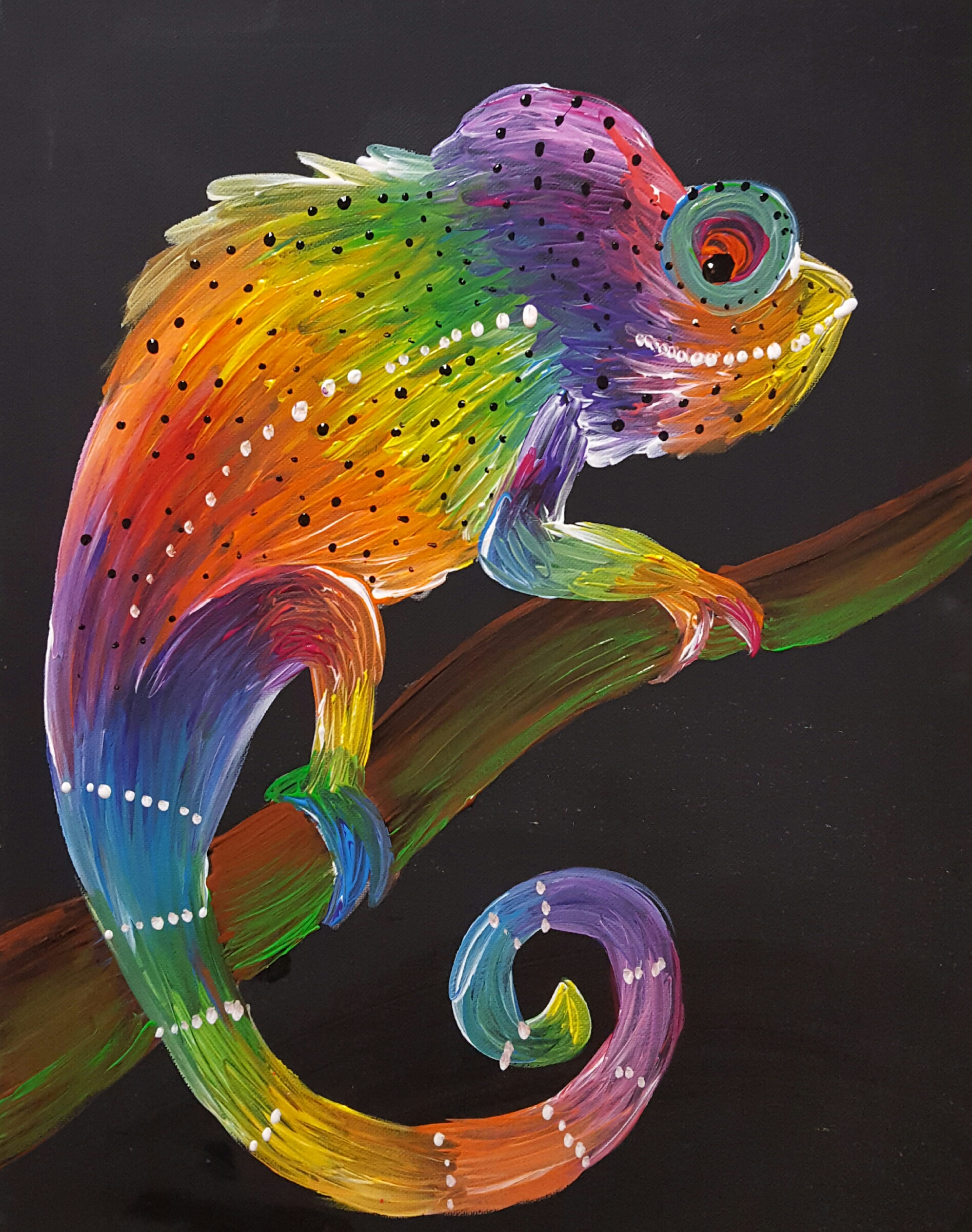 Chameleon- (8 years old and up) 2 hours