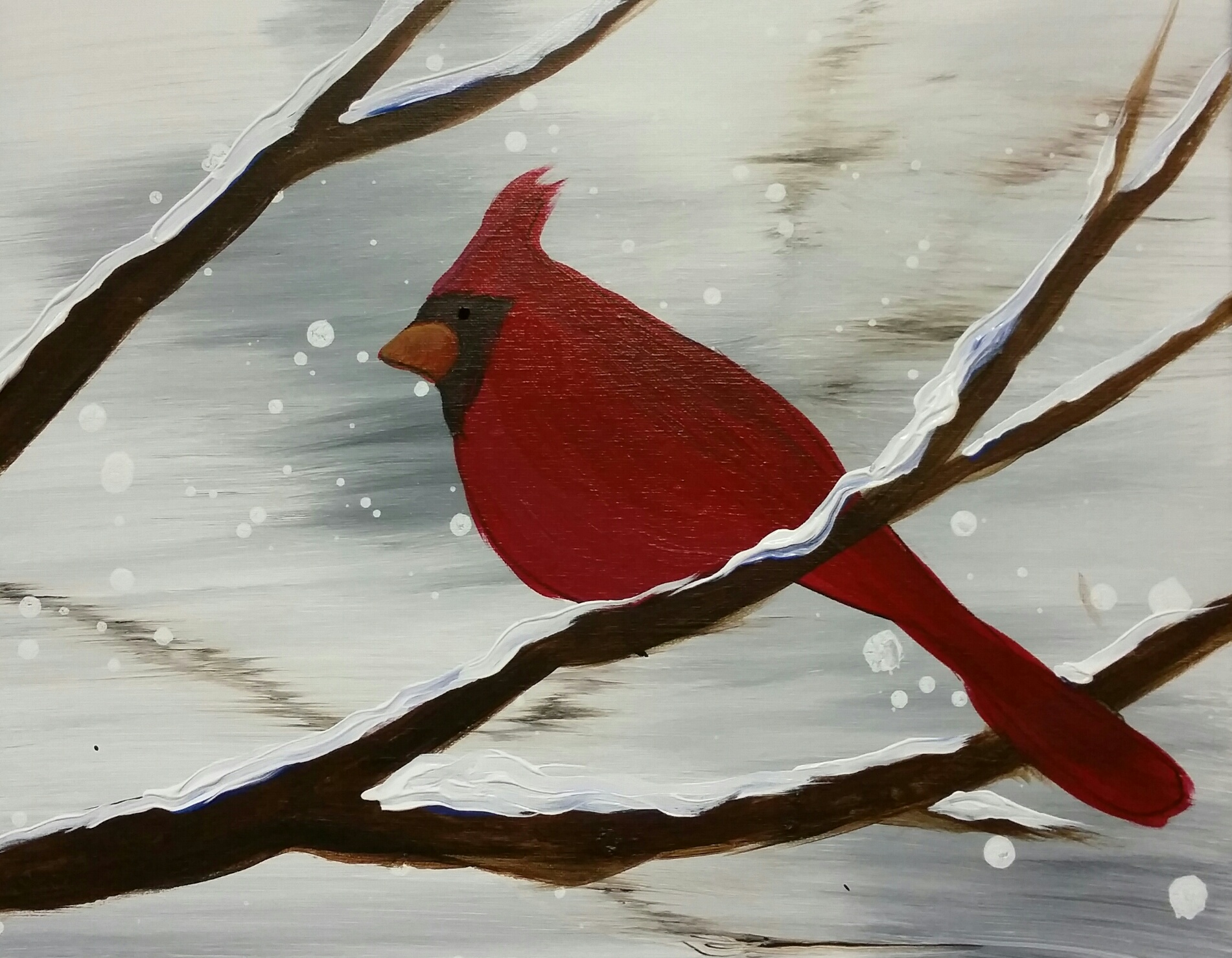 Red Cardinal- 2 hours