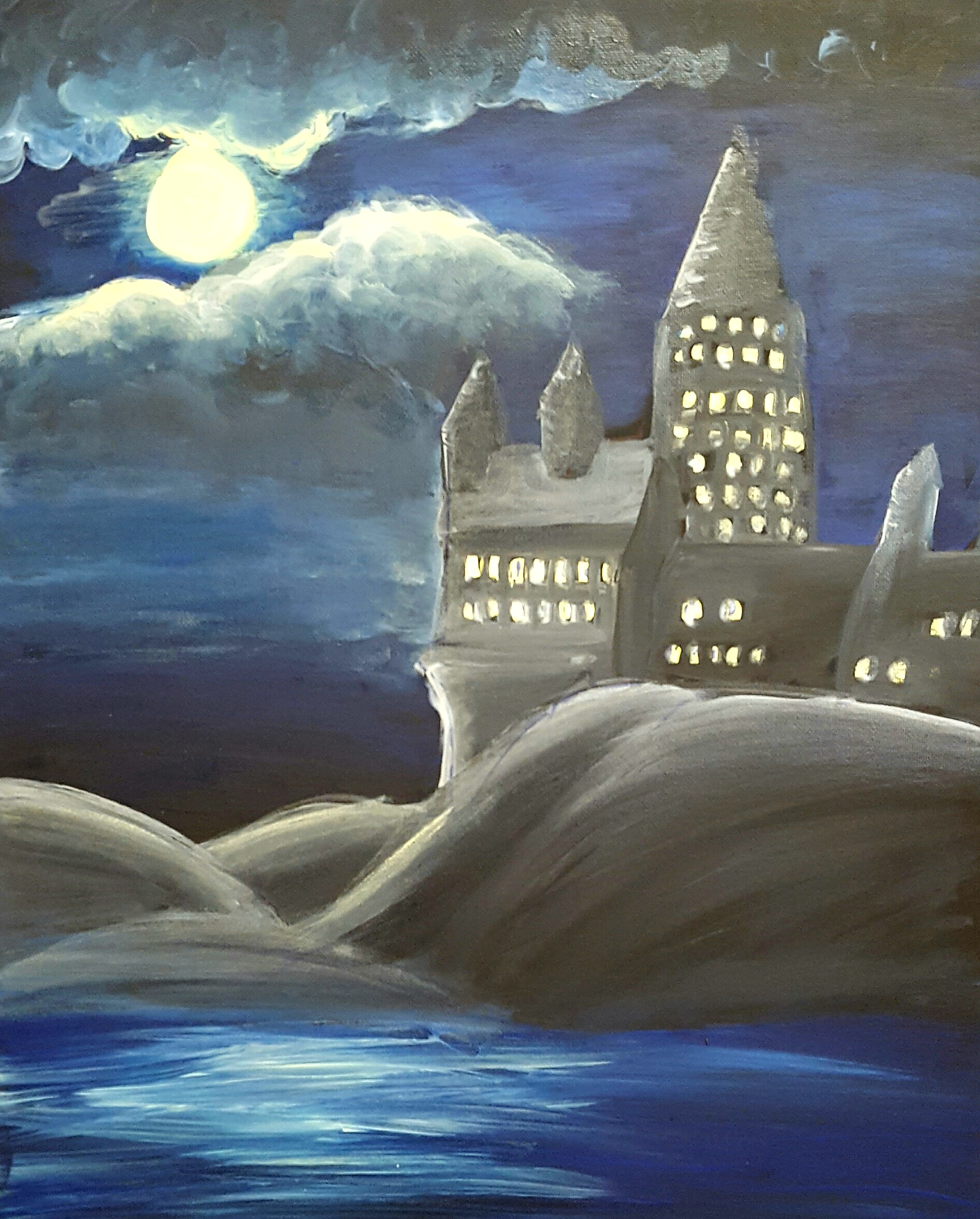 Glow in the Dark Hogwarts- 2 hours
