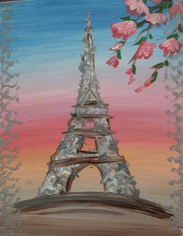 Spring Eiffle Tower- 2 hours