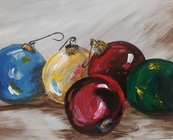 Christmas Ornaments- 2 hours